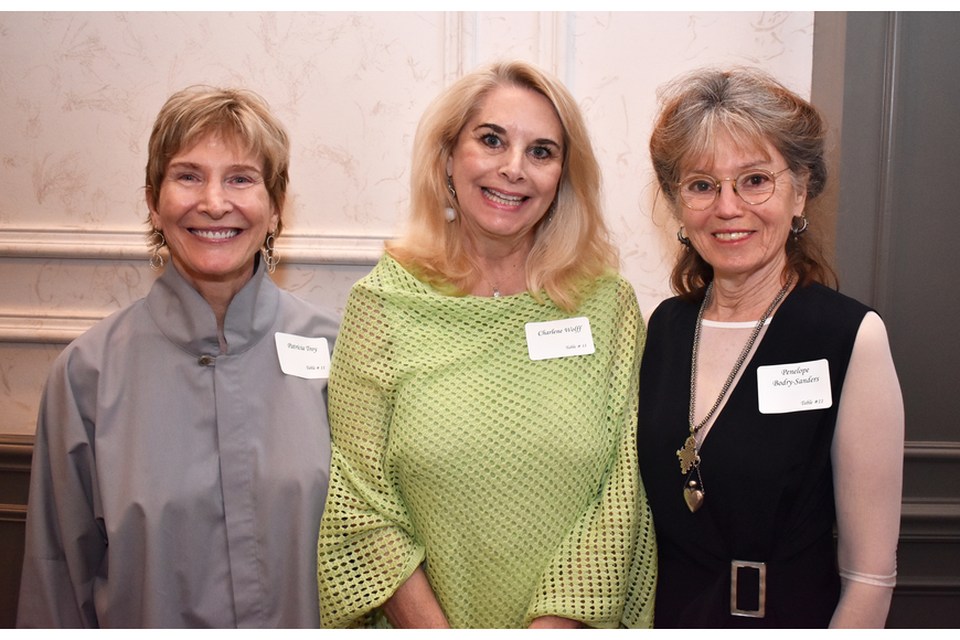Patricia Troy, Charlene Wolff and Penelope Bodry-Sanders