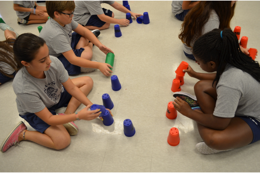 SSAS Cup Stacking
