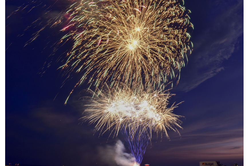 This year is the 29th annual Siesta Key Chamber of Commerce fireworks show.