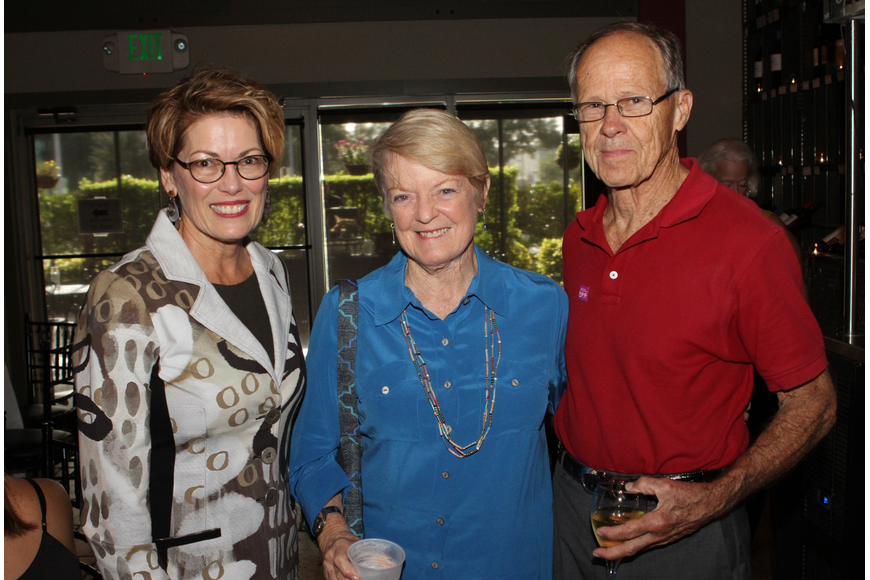 President and CEO of Planned Parenthood of Southwest and Central Florida Stephanie Fraim with Carolyn and Bob Johnson