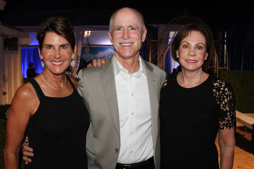 Audrey Robbins with Peter and Joanne Powers