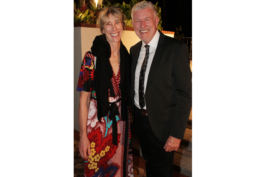Alice Nelson and Artistic Director Michael Donald Edwards