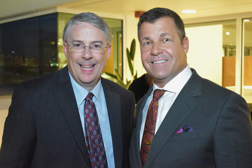 Sarasota Orchestra CEO Joe McKenna and Director of PNC Jeff Boyd