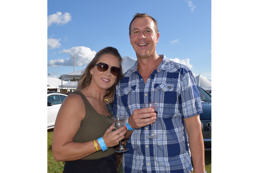 Lakewood Ranch's Erin and Tim Francis come to the Suncoast Food and Wine Fest for the fourth time.