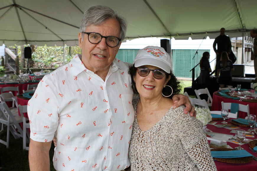 Executive Director Bruce Rodgers and Lisa Rubinstein