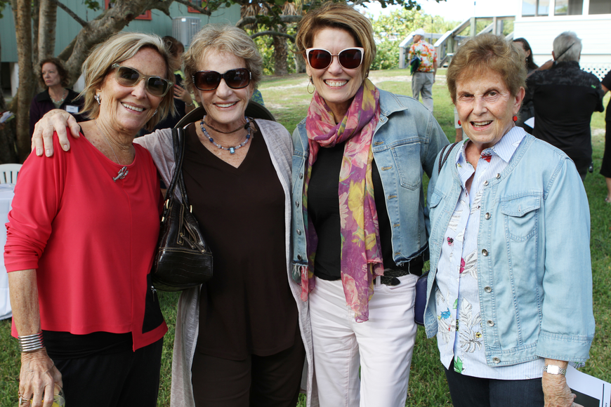 Co-chairwoman Susan McLeod, Charlotte Perret, Stephanie Farim and Nancy Roucher