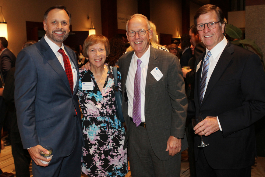 Florida Sen. Tom Lee,  former Commissioner Nora Patterson with John Patterson and honoree former Florida Sen. John McKay