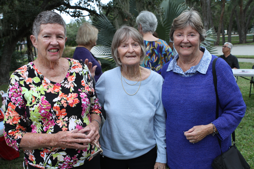 Anne Roberts, Bobbie Banan and Mary McGrath