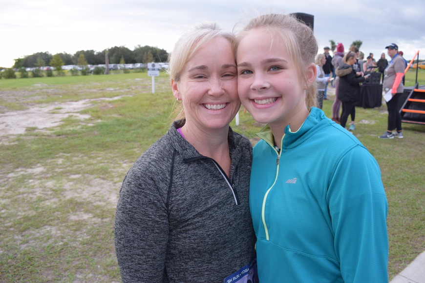 Sarasota's Jude and Ava Brown are a mother-daughter team who often run together.