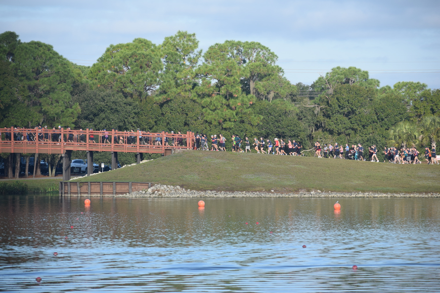 Many of the runners said they loved the beauty of the courses, which included bridges.