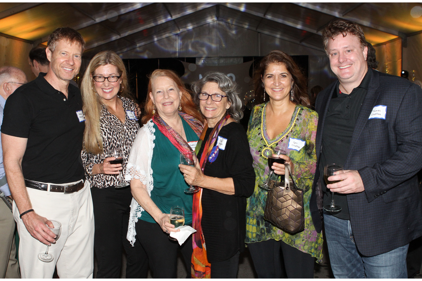 Mark and Lisa Vengroff with Patricia Starr, Museum of Consciousness founder Carol Vengroff, Geri and Thomas Chaffee