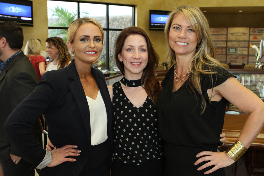 Christy Chilton, Shannon Weedman and Carrie Dennison