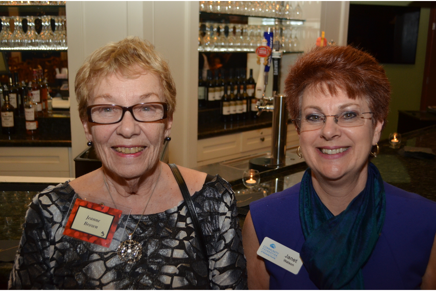 Jeanne Brown and Janet Watson