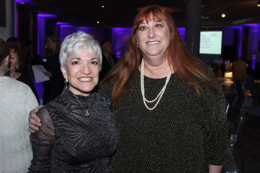 Elaine Spang and Kim Schebel