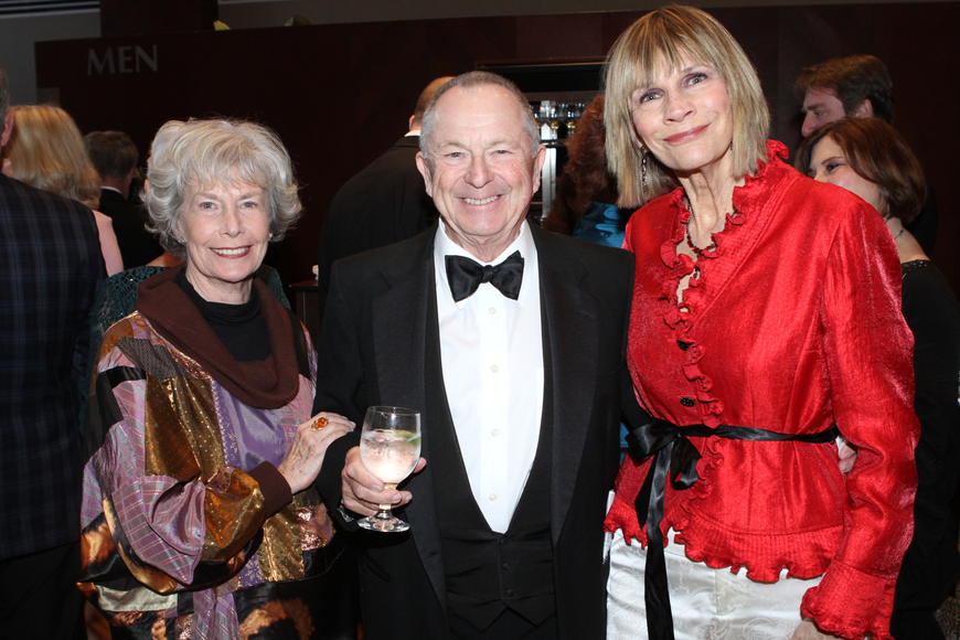 Linda and Robert Rosenbluth with Suzanne Atwell