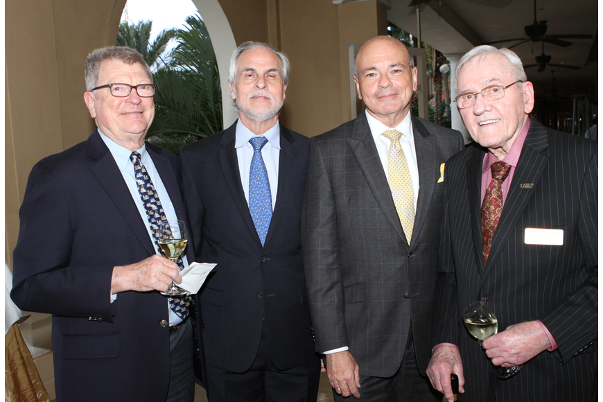 Patrick Nettles, Artistic Director Victor  DeRenzi,  Executive Director Richard Russell  and Donald Worthington