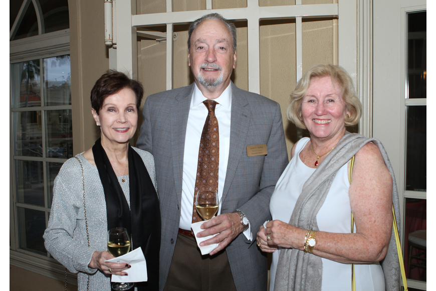 Carla Koeffler with John Suhre and Irene Bagby