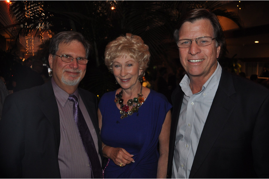 Jeff and Ginny Orenstein with John McKay