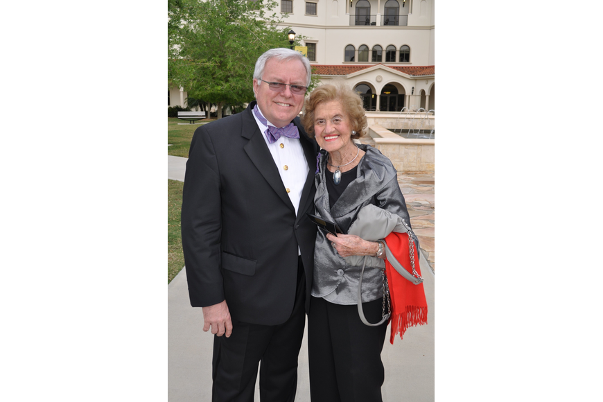 Dennis Stover and Betty Schoenbaum