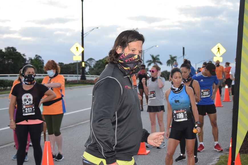 Parks Robinson of Fit2Run went to Boo Run organizers and told them they could safely host an in-person run at Nathan Benderson Park.