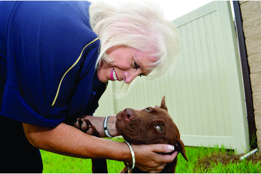 Marsha Panuce made her Donte's Den animal shelter become a reality in Bradenton.