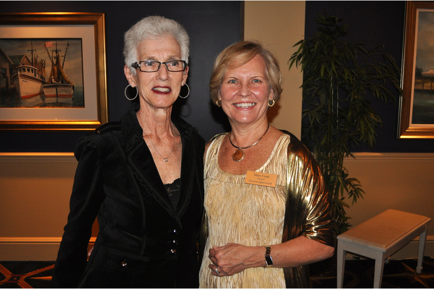 Barbara O'Connor and Mary Cook