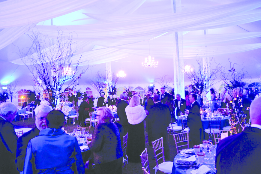 New College Foundation's Inaugural Ball in February.