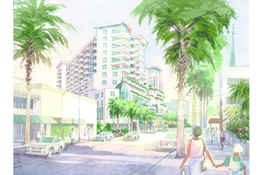 In 2005, Isaac Group Holdings released this rendering depicting phase two of its Pineapple Square project. It now wants to sell its land and entitlements for the area to another developer.