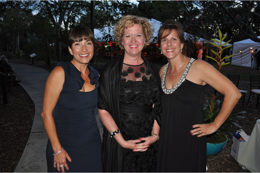 Ruth Kelly, Michele Weaver and Karen Miller