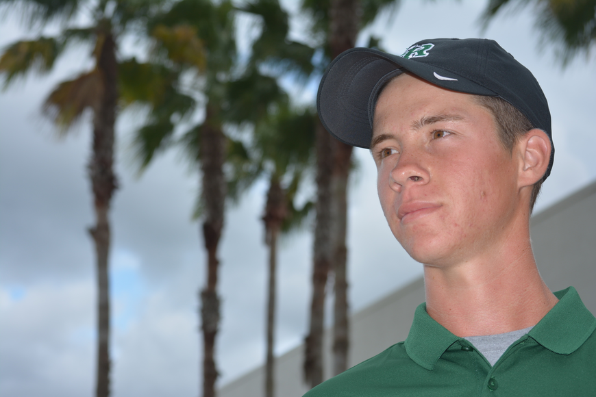 Drew Angelo's best skill? Getting himself out of trouble on the course, per his Lakewood Ranch coach John Victor.
