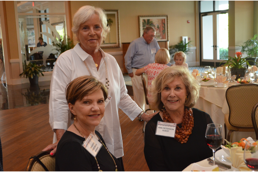 Sharon Freeman, Marie Guillet and Ann Runyon-Peterson