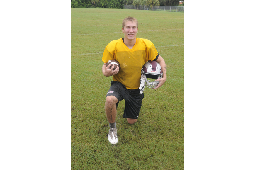 Riverview quarterback Mike Welcer will try and top last week's five touchdown performance this week on the road against Newsome on Oct. 21 at 7:30 p.m .