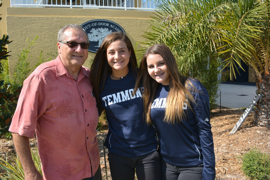 Tom Wetzel, Sydney Sforzo and Chelsea Lea talk about giving back to the community.