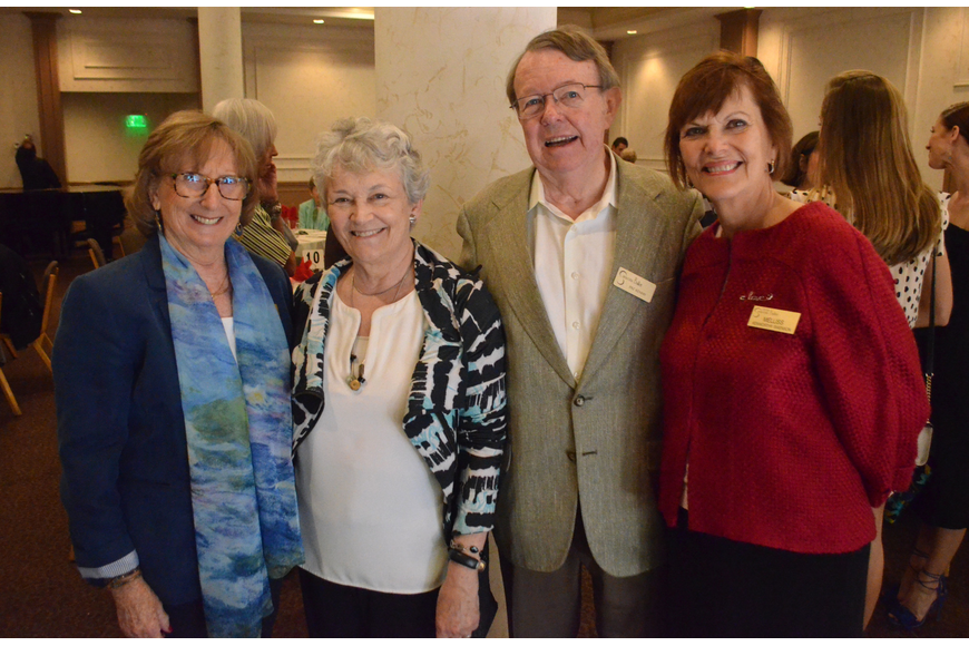 Friends of the Sarasota Ballet President Janice Kunkel, Ann and Pat Kenny and Melliss  Swenson