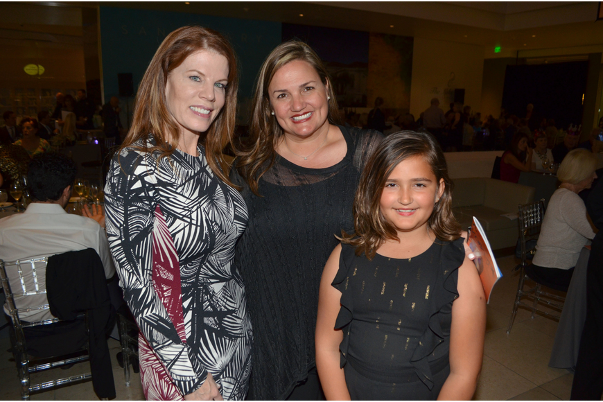 Renee Phinney with Rebecca Blitz and her daughter, Elizabeth Blitz