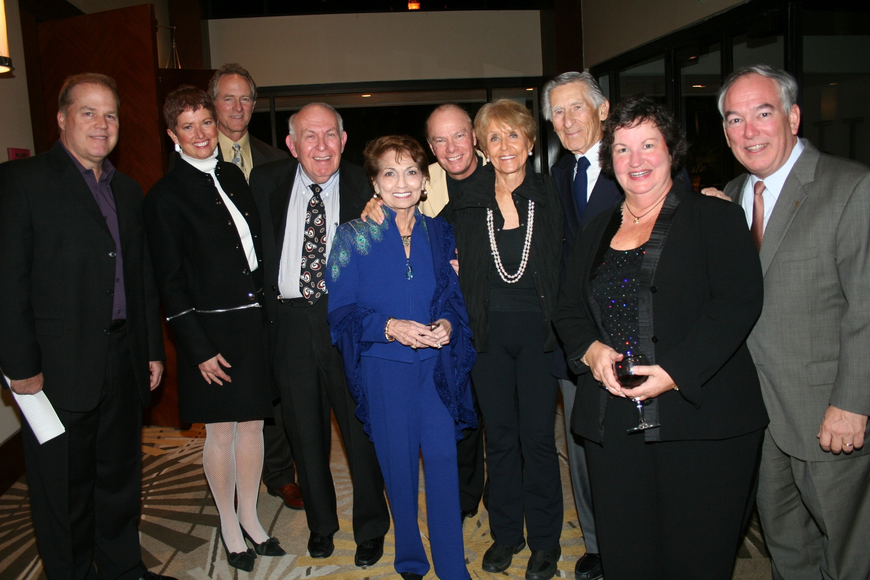 Ken Sons, Gwen and Doug MacKenzie, Jewel and Mike Ash, Les McCurdy, Elaine Keating, Dr. Sid Katz, Sarah and Tramm Hudson