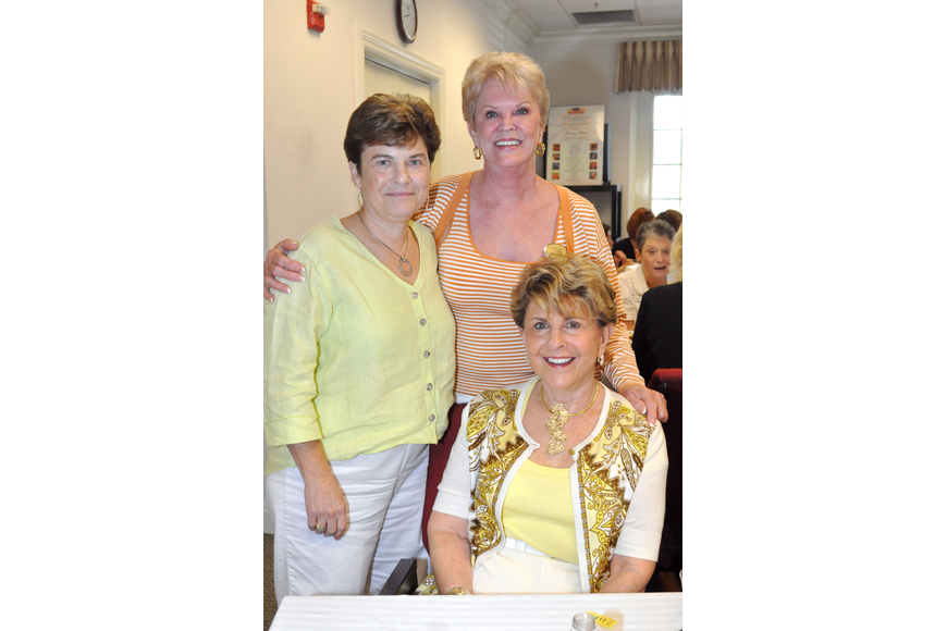 Ilene Friedman, Sandy Greenberg and Renee Sheade