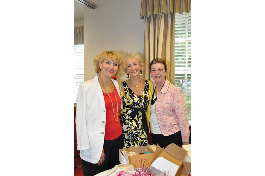 Karen Iezzi, Sandy Cowing and Lois Schulman