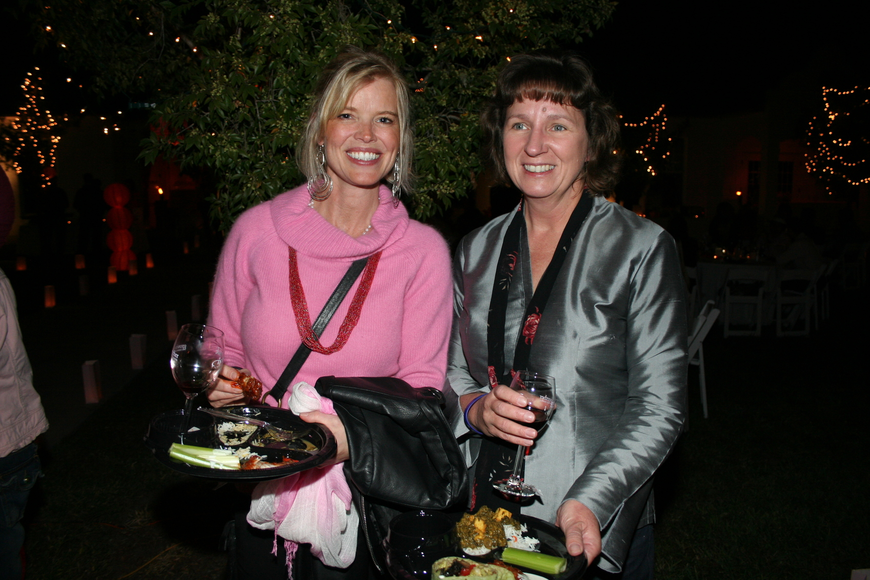Lena Lothman and Patricia West