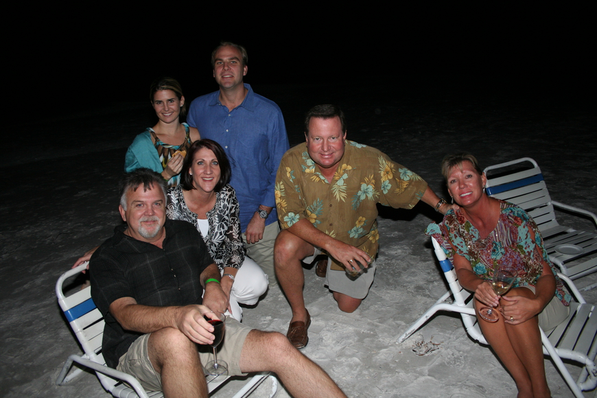 Jeff and Kristen Nichols, Meghan Foley and Matt Leiter and Rick and Marsha Crawford
