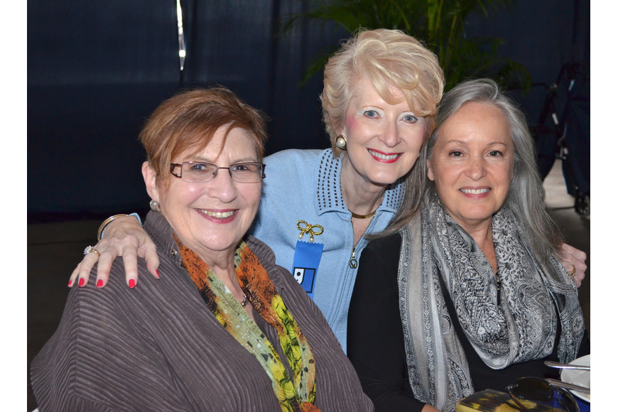 Judy Bronstein, Christine Jennings and Alexis Upham