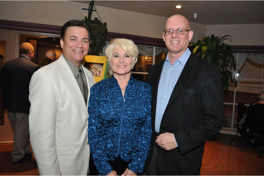 Jeff Carlson, Donna Culbreth and Jonathan Parks
