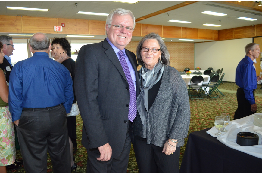 Co-Chairs Dennis Stover and Marcia Foote