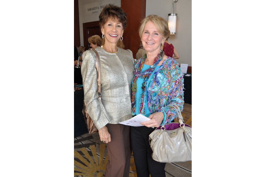Norma Cohen and Pam Eaton