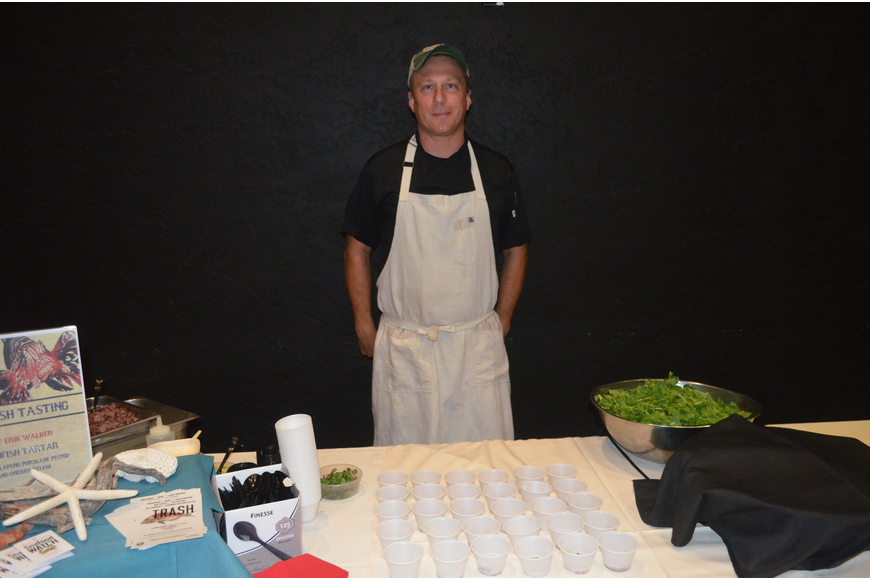 Chef Erik Walker, of the Chiles Restaurant Group
