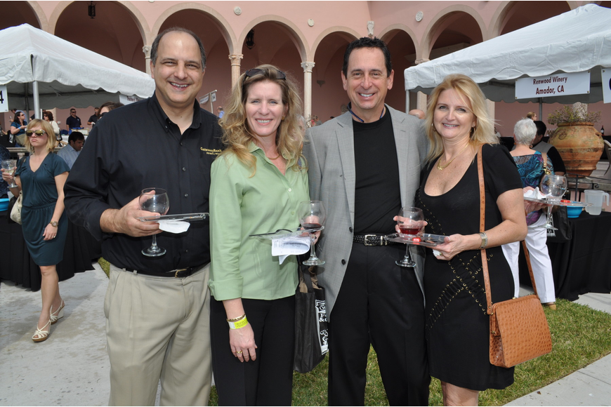 Mike and Karen Feduccia, Eric Peters and Julie Hunnel