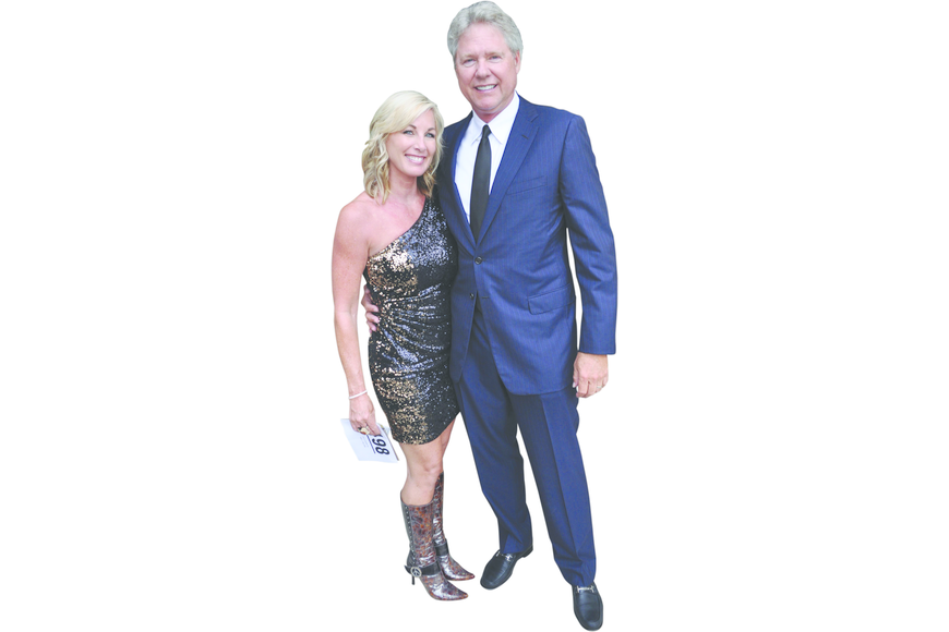 Jennifer and Larry Fox at American Cancer Society's Cattle Barons' Ball April 13, at Gettel Acura.