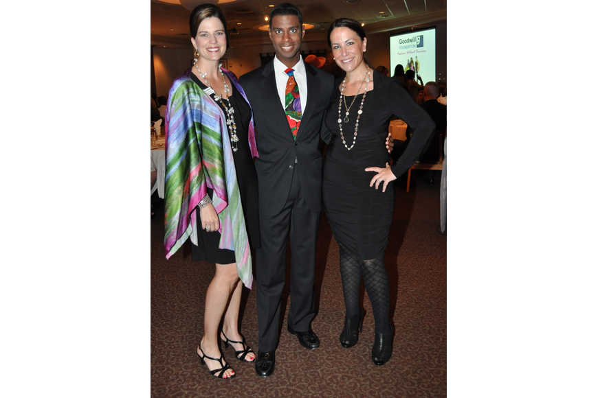 Kameron Hodges, Justin Mosley and Anne Weintraub
