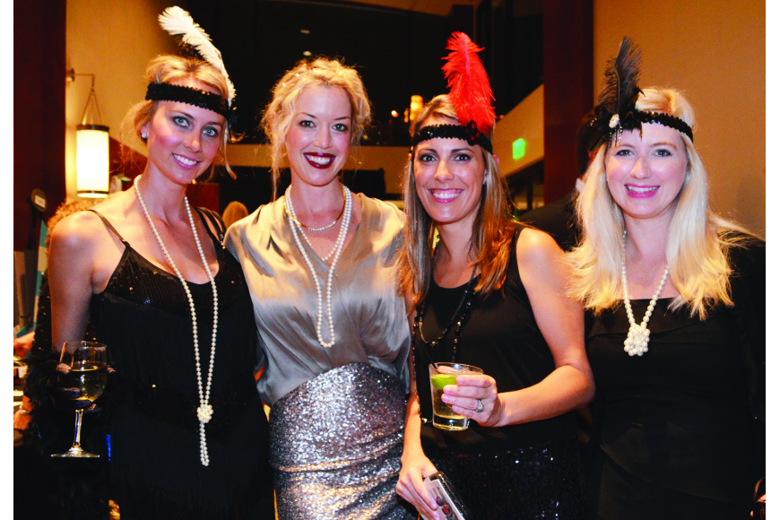 Samantha Jennen, Kristy Cail, Kelli Crowley and Jenny Infanti at Boys and Girls Clubs of Sarasota County's Dream Makers Ball Nov. 16, at Hyatt Regency Sarasota.