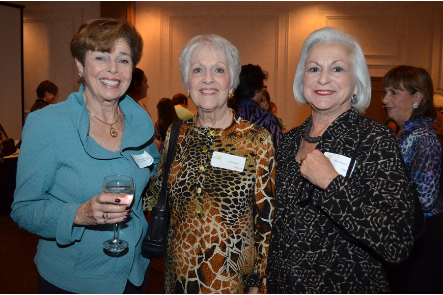 Co-Chairwoman Irene Kauffman, Andy Frank and Fran Orbach